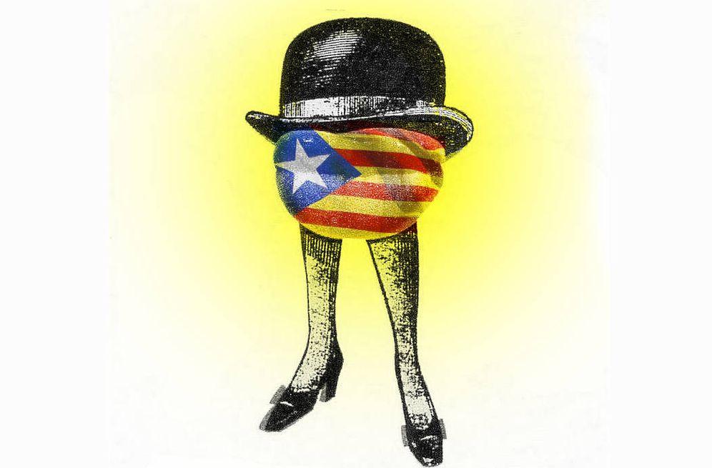 Foto: Imagen inspirada en el cartel de la película 'El discreto encanto de la burguesía'. (Enrique Villarino)