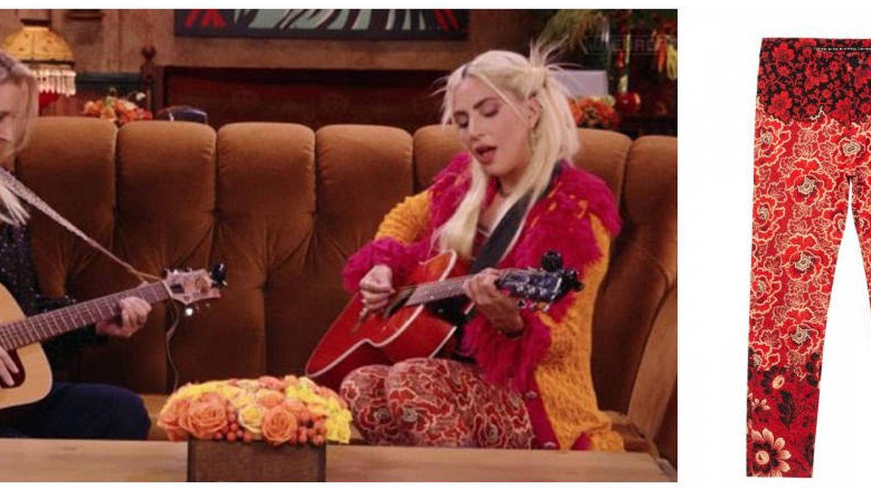 Lady Gaga, en 'Friends'. (HBO, Desigual)
