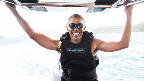 Las divertidas vacaciones de Barack Obama y el empresario Richard Branson