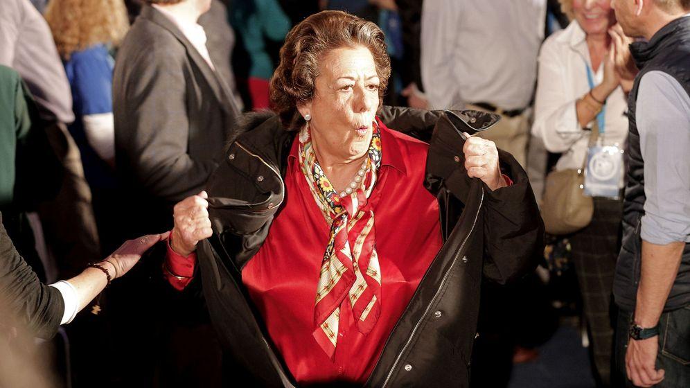 Foto: Rita Barberá, senadora y exalcaldesa de Valencia.