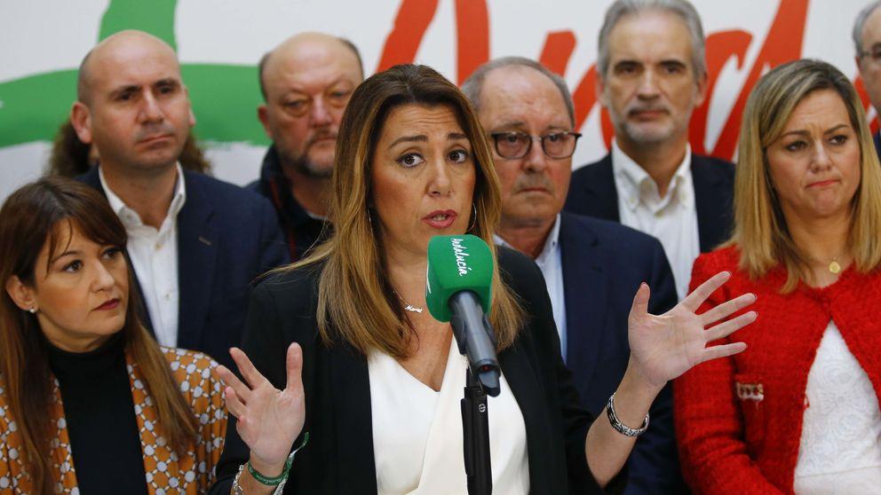 El Parlamento andaluz reprobará a Susana Díaz, Chaves y Griñán por los ERE