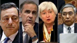El único juego sobre la mesa: los bancos centrales