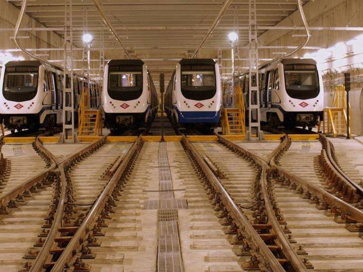 Foto: 'Fondo de saco' del metro Las Rosas, donde tuvieron lugar los hechos. (EC)