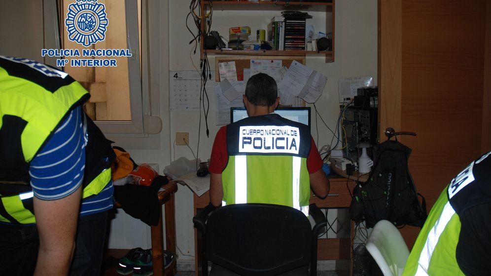 Foto: Imagen de un momento de la operación. (Policía Nacional)