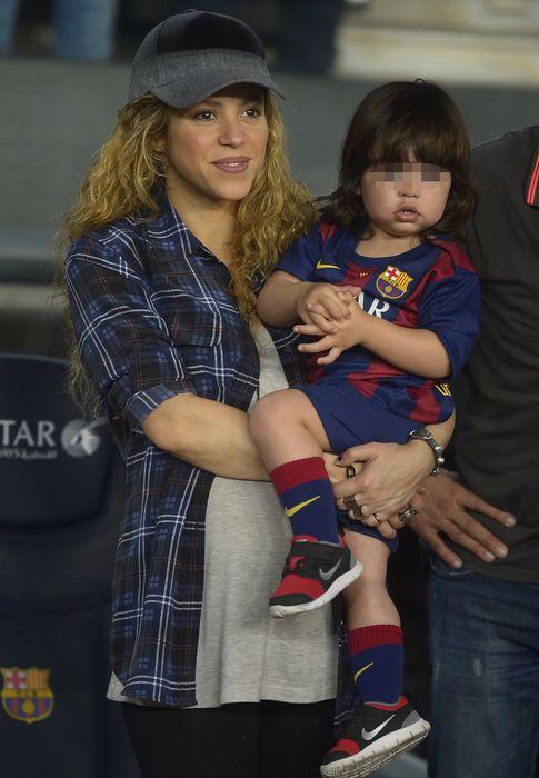 Foto: Shakira, muy feliz durante su segundo embarazo (VANITATIS)