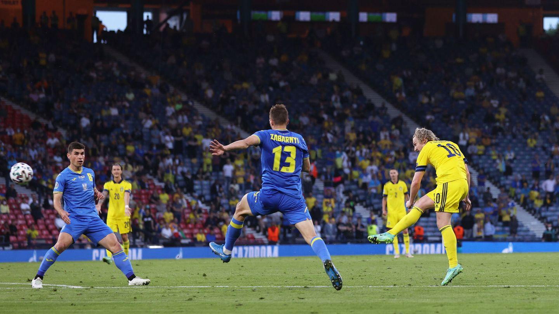 Forsberg, segundo máximo goleador de la Eurocopa con cuatro tantos. (Reuters)