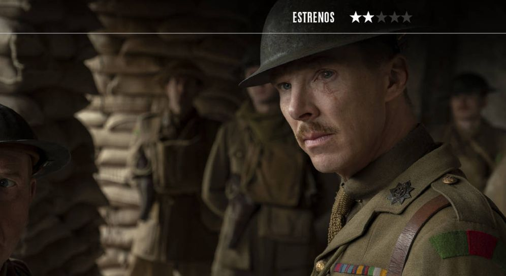 Foto: Benedict Cumberbacht, en este epopeya bélica de Sam Mendes. (Universal)