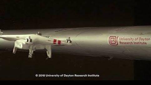 Esto es lo que pasa cuando un dron impacta en el ala de un avión a 400km/h