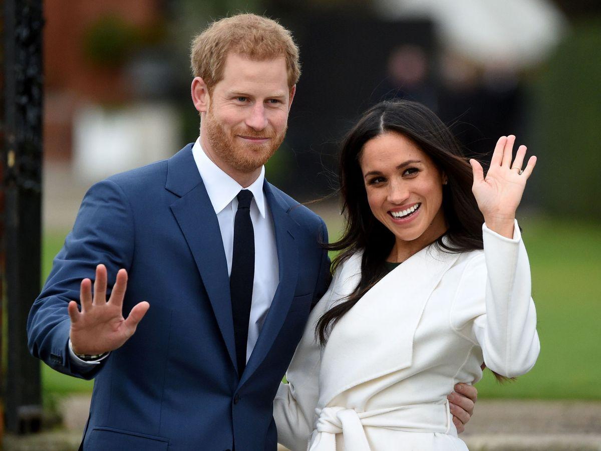 Foto: Meghan y Harry, el día que anunciaron su compromiso. (EFE)