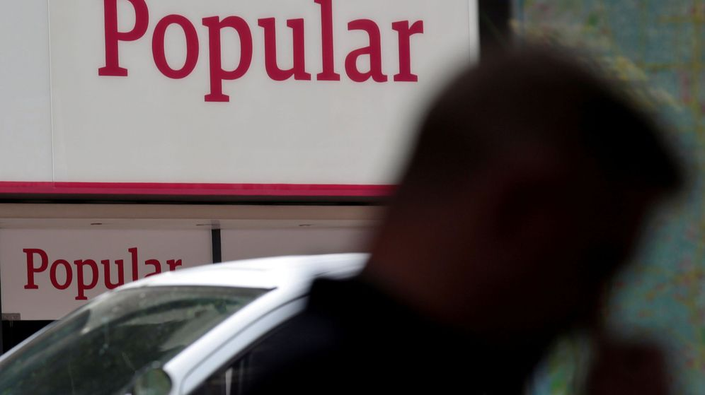 Foto: Letrero del Banco Popular. (Reuters)