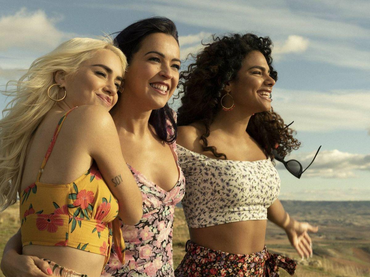 Foto: Segunda temporada de 'Sky Rojo'. (Netflix)