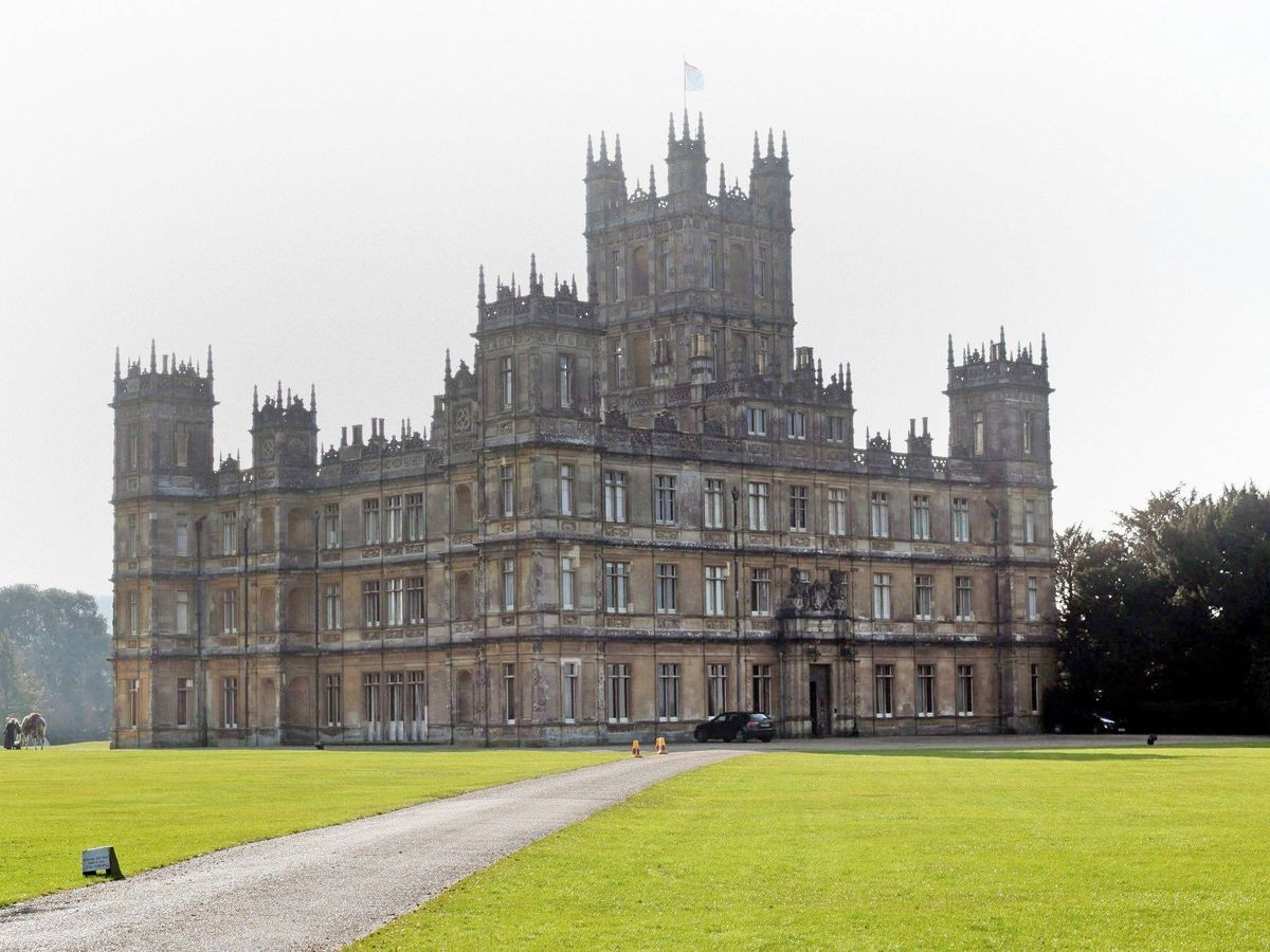 Foto: Highclere Castle, escenario de 'Downton Abbey'. (CP)
