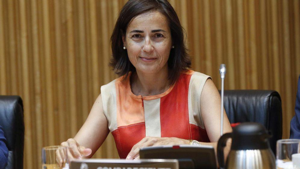 Foto: La ya ex directora general de Tráfico, María Seguí, durante su comparecencia en una Comisión de Interior. (Efe)