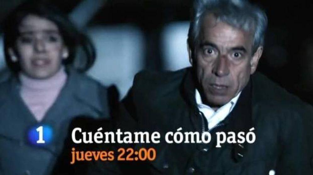 Foto: Una promoción de RTVE sobre 'Cuéntame cómo pasó'. (RTVE)