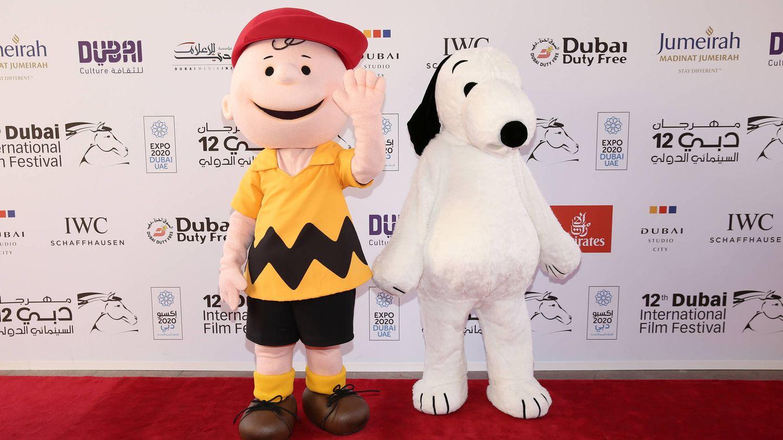 Carlitos y Snoopy. (Getty)