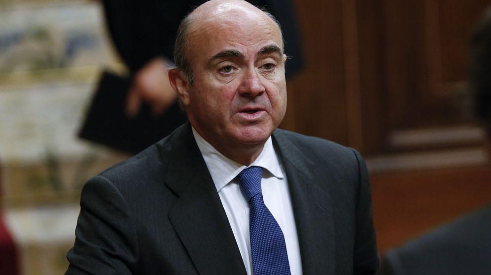 Foto: El el ministro de Economía, Industria y Competitividad, Luis de Guindos. (EFE)
