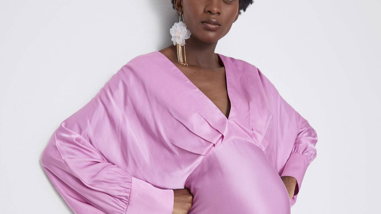 Las modelos de Zara Mum están embarazadas de verdad. (Cortesía)