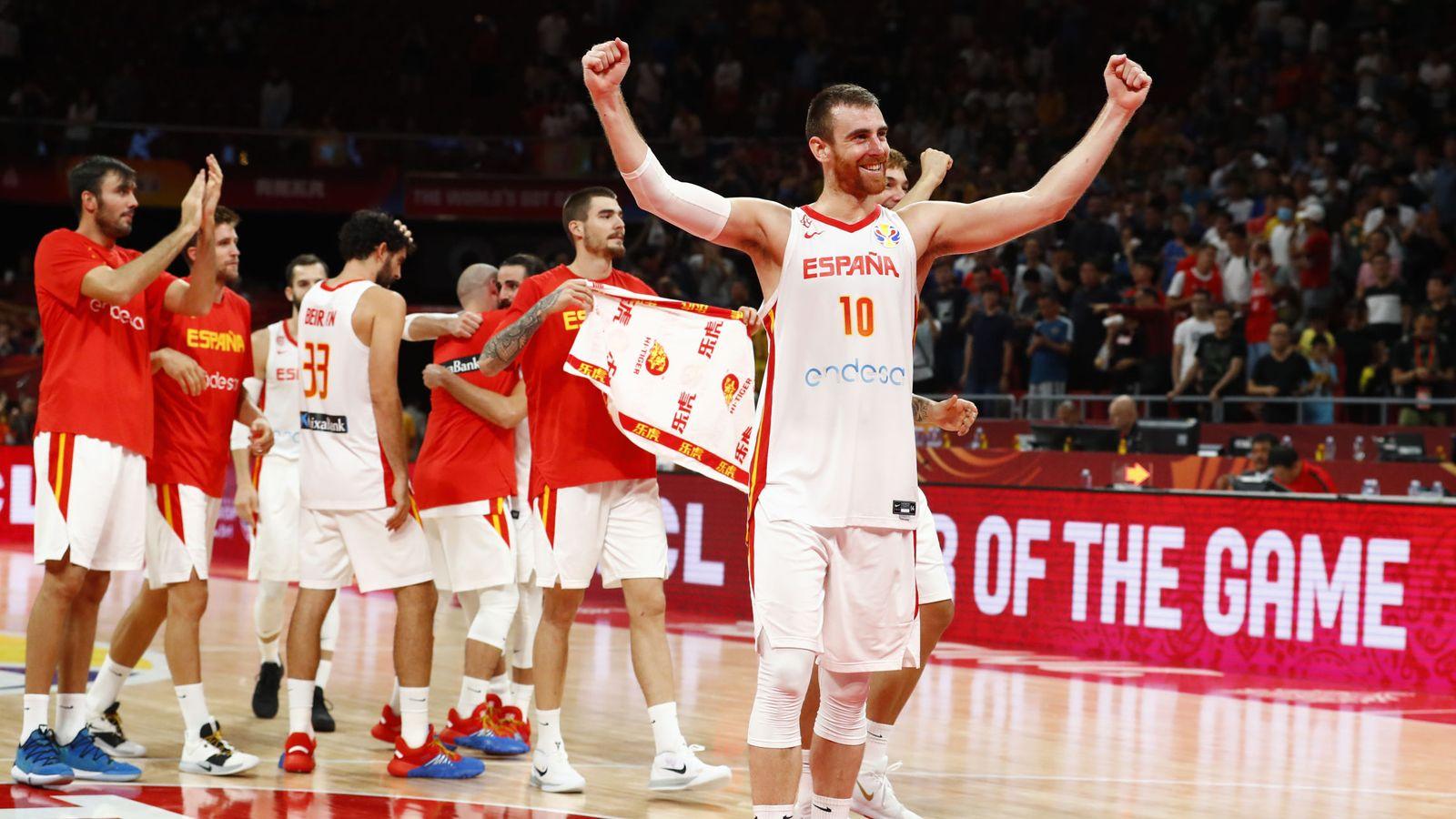 Foto: Basketball - fiba world cup - semi finals - spain v australia
