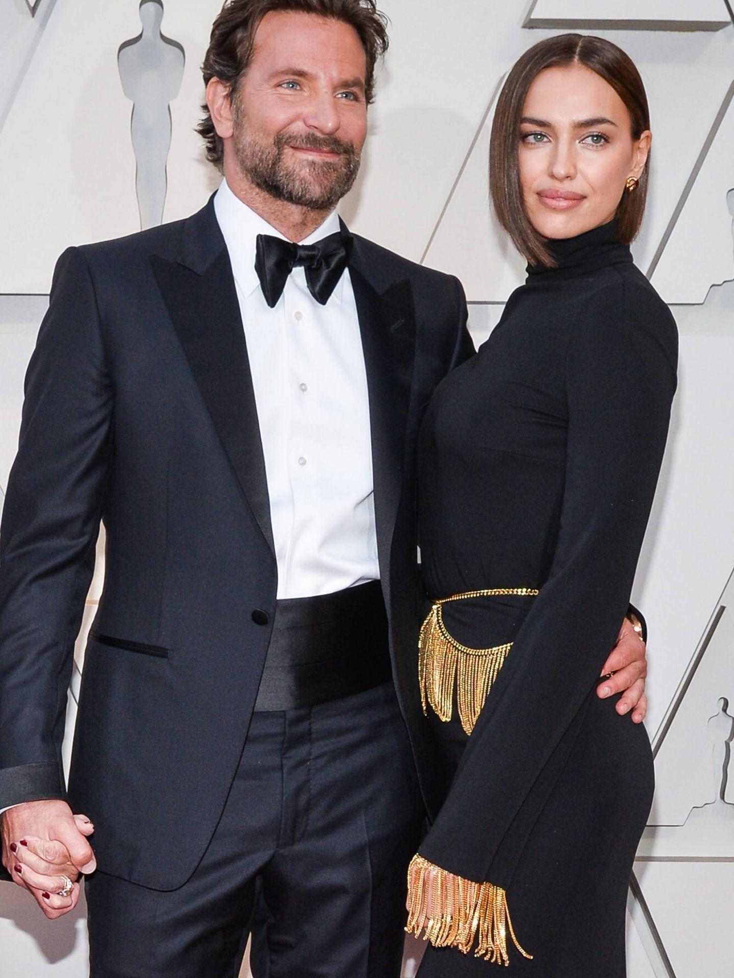 La pareja, en la última ceremonia de los Oscar. (Cordon Press)