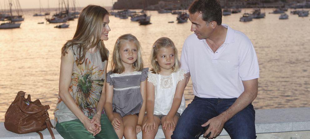 Foto: La familia Borbón Ortiz en Mallorca en una imagen de archivo (Gtres)