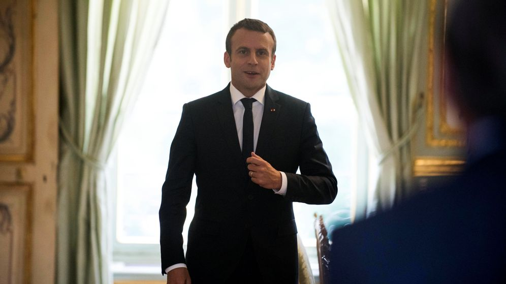 Foto: Emmanuel Macron, presidente de Francia. (Reuters)