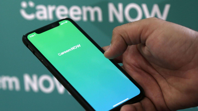 La aplicación de Careem. (Reuters)