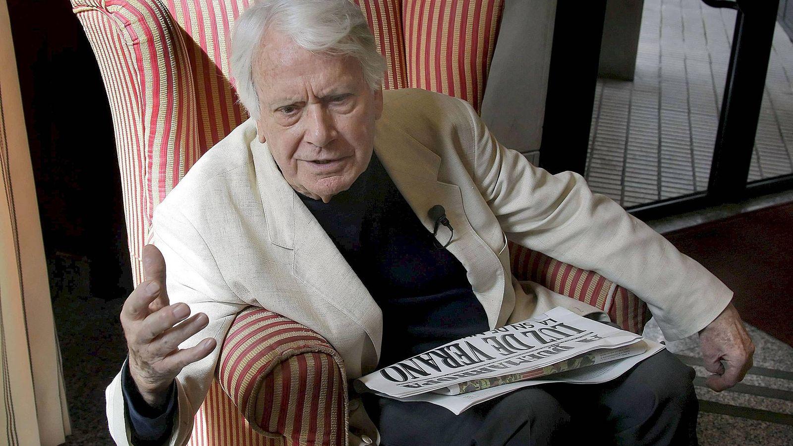 Foto: El escritor y ex ministro de Cultura, Jorge Semprún. (EFE)
