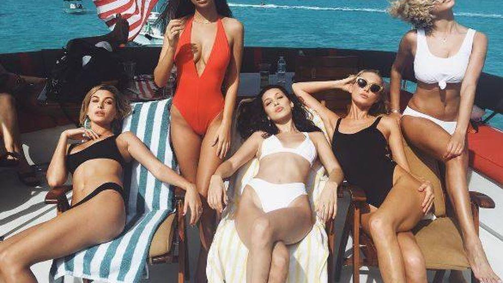 Emily Ratajkowski, Bella Hadid, Alessandra Ambrosio... Merecido descanso en Bahamas
