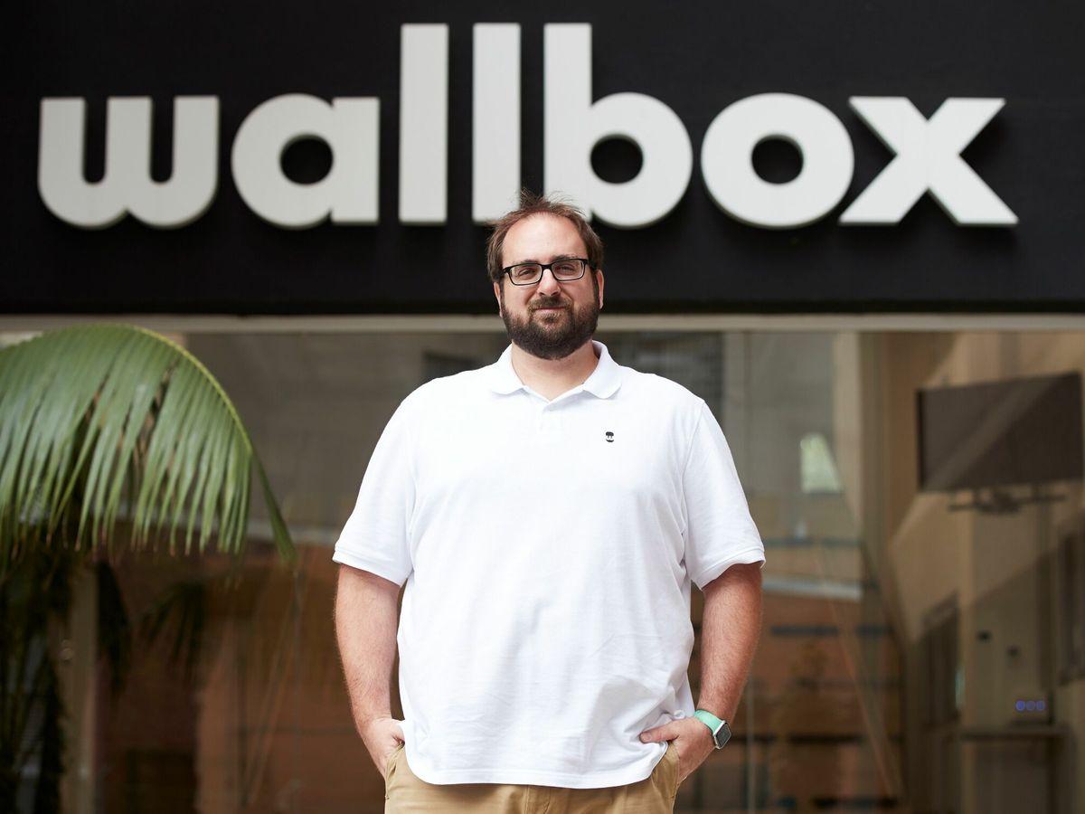 Foto: El consejero delegado de Wallbox, Enric Asunción. (EFE)