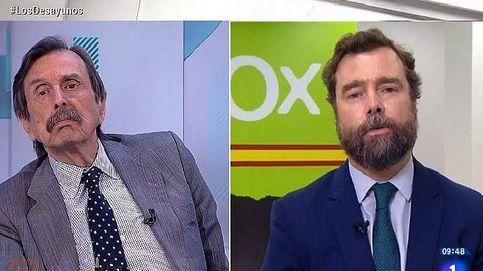 Espinosa de los Monteros (Vox) incendia 'Los desayunos' con su ataque a un periodista, que anuncia acciones legales