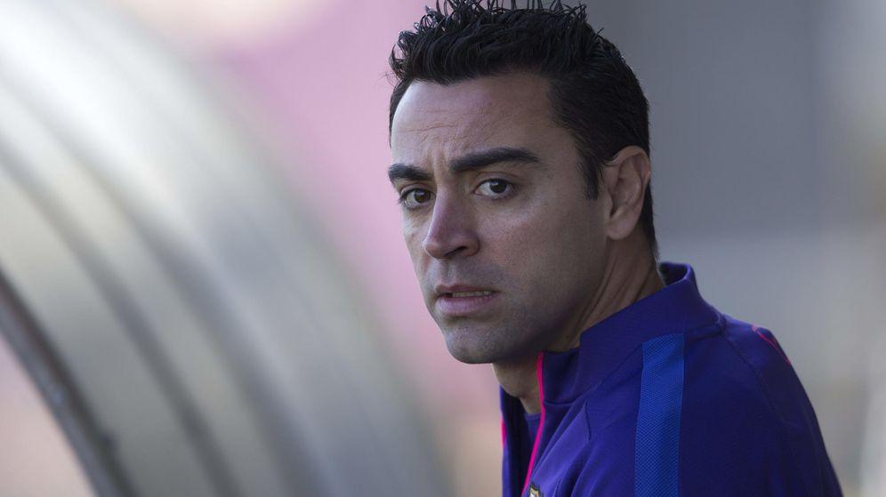 Foto: Xavi anuncia que deja el Barcelona con el objetivo de volver: Es el momento de irme