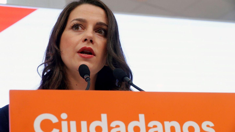 La portavoz de Ciudadanos en el Congreso, Inés Arrimadas. (EFE)