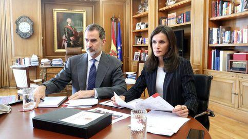 El 'misterio' del lápiz sin estrenar de la reina Letizia durante 13 días de trabajo