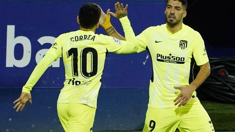 Del gatillazo goleador a la artillería pesada: el Atlético de Luis Suárez dispara a quemarropa