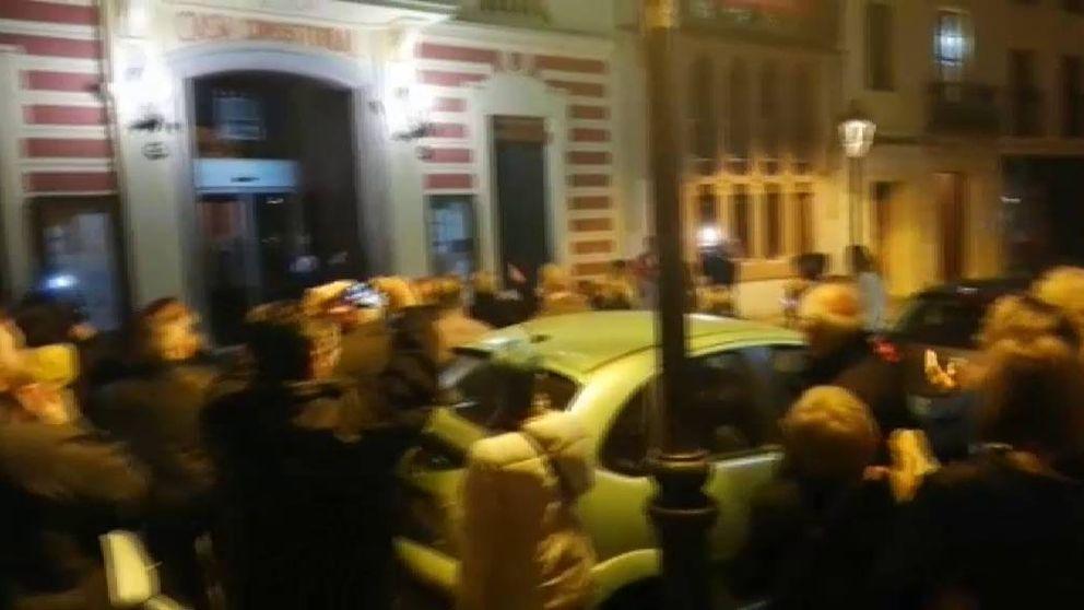 Escrache de vecinos de Canet de Mar contra menores inmigrantes