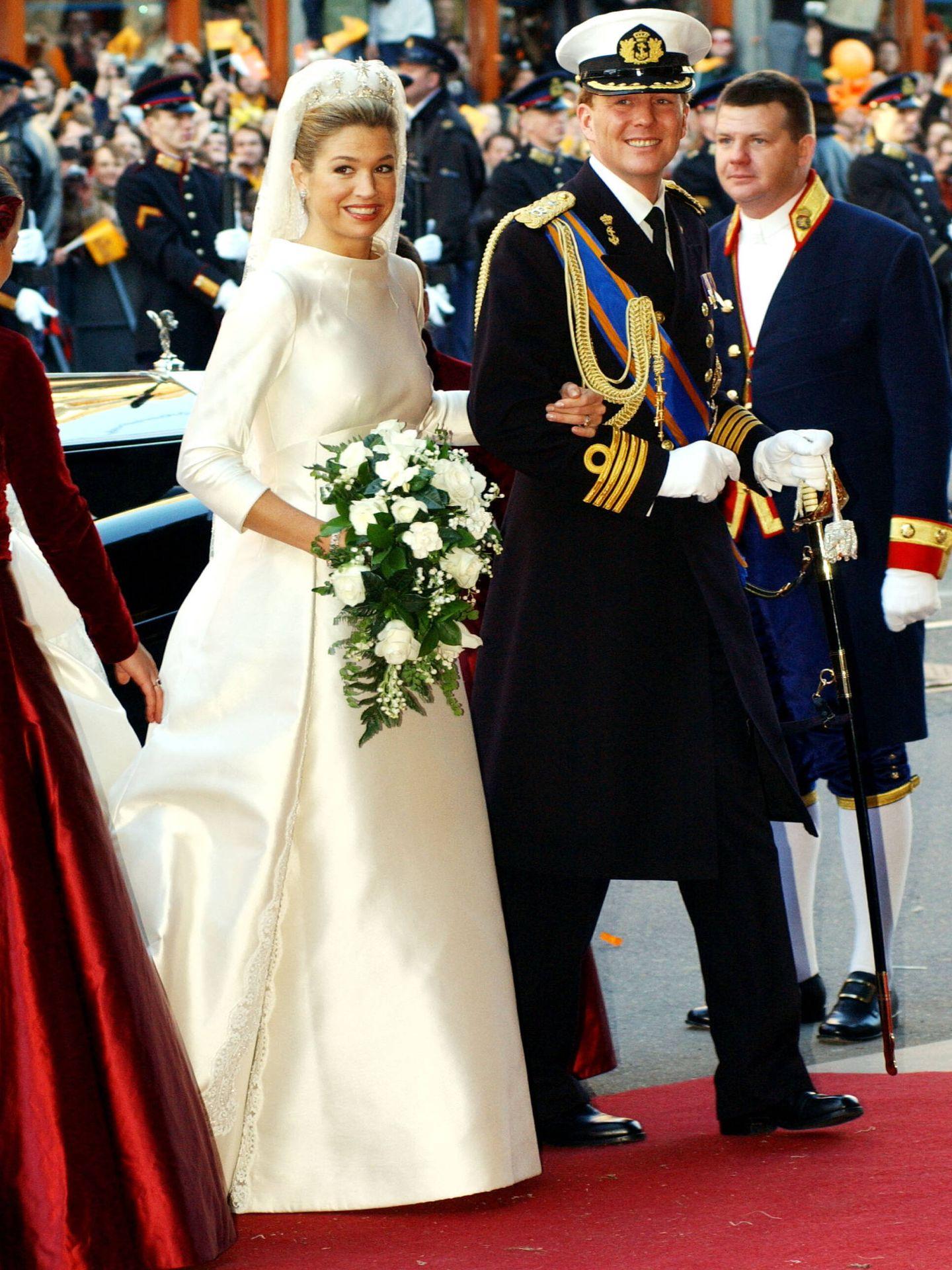 Los reyes de Holanda. (Getty)