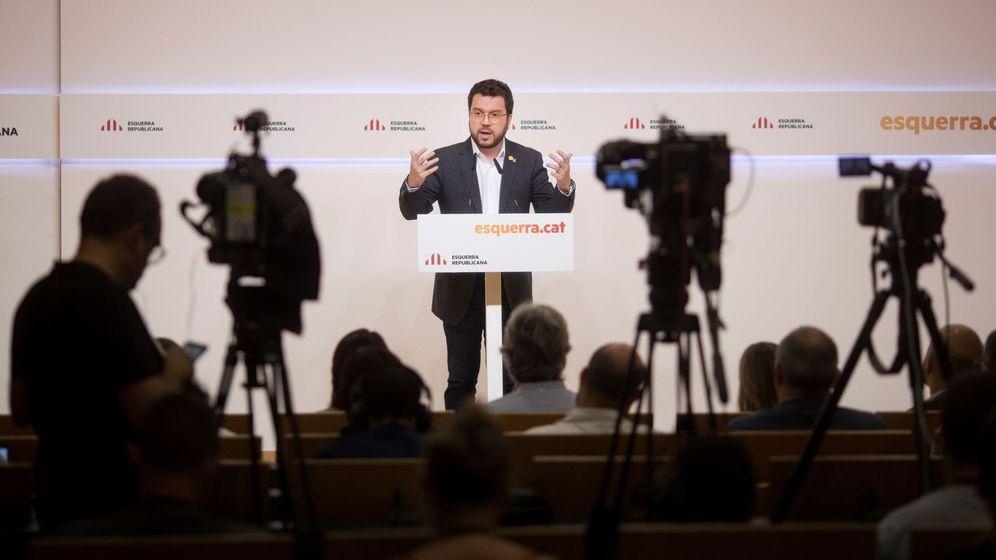 Foto: El vicepresidente del Govern y adjunto a la presidencia de ERC, Pere Aragonès. (EFE)