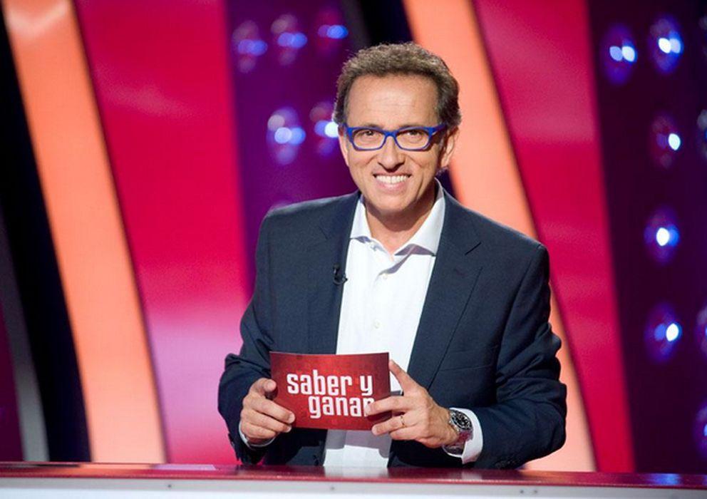 Foto: Jordi Huratdo en 'Saber y ganar' (TVE)
