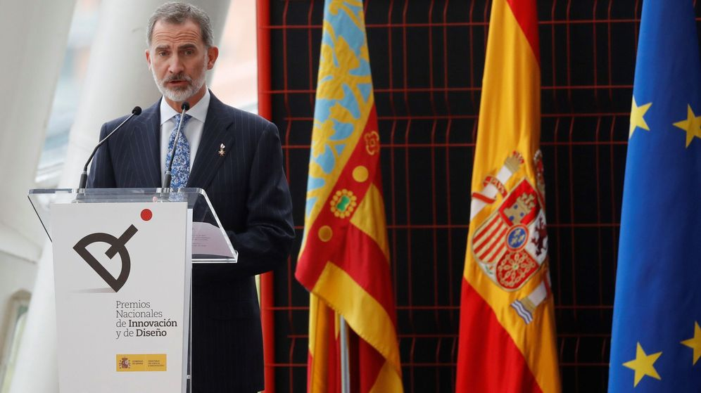 Foto: Felipe VI, en un acto en Valencia. (EFE)