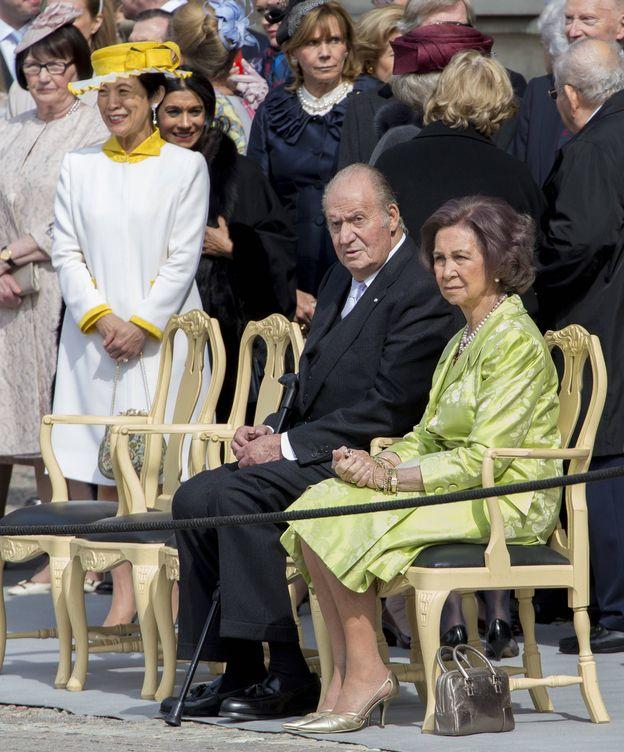 Foto: Los Reyes eméritos en una imagen de archivo. (Gtres)