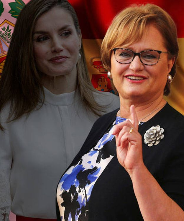 Foto: La primera dama peruana y la Reina Letizia. (Vanitatis)