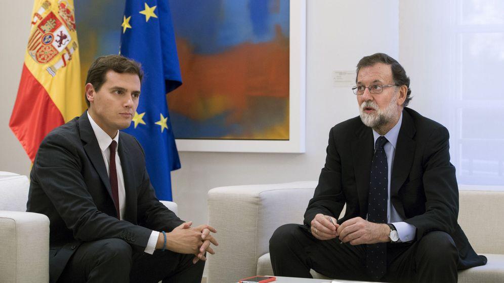 Foto: Albert Rivera y Mariano Rajoy, en Moncloa. (EFE)