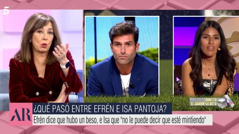 Ana Rosa Quintana destroza a Efrén Reyero y se mofa de su beso a Chabelita