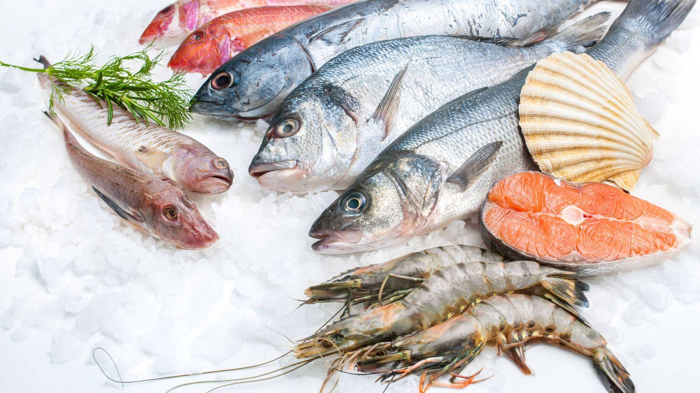 Los pescados ayudan a mantener los niveles de hierro.