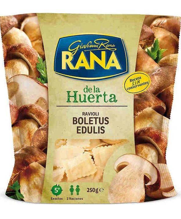 Foto: Los raviolis Rana solo tienen un 7% de boletus. (EC)