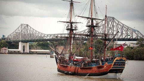 Encuentran el barco del Capitán Cook