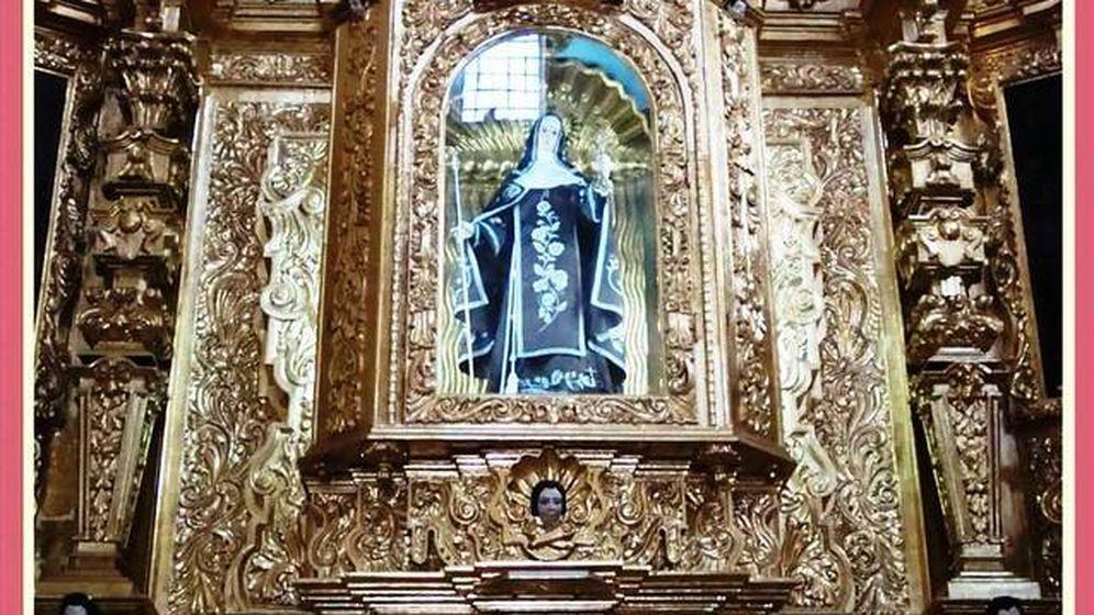 Foto: Imagen de Santa Clara de Asís en Ecatepec, México.