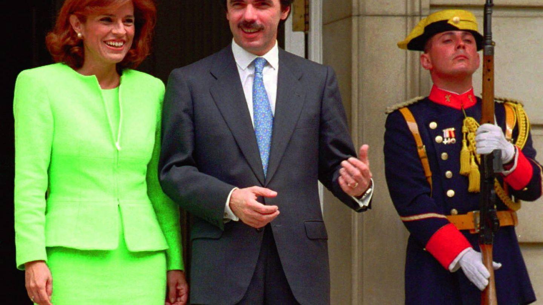 Aznar y Botella en sus tiempos de la Moncloa. (Gtres)