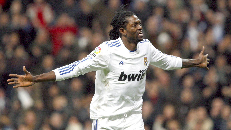 Adebayor marcó 8 goles en medio año de blanco. (EFE)