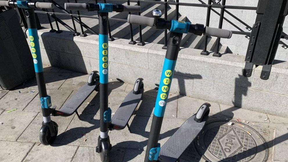 Primera sentencia (y multa) en Madrid por robar un patinete de alquiler